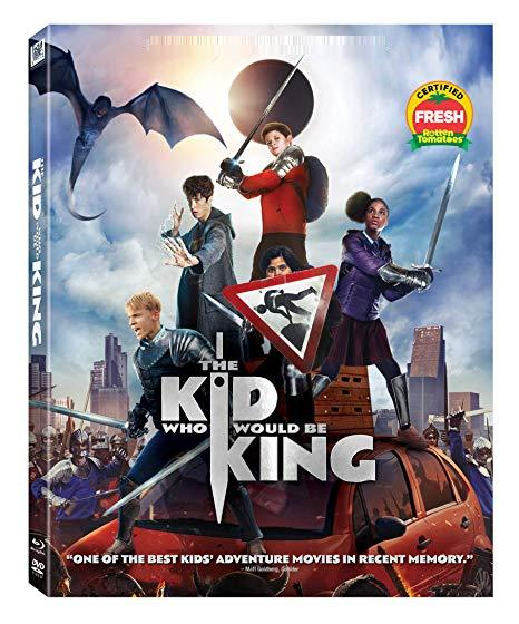 The Kid Who Would Be King [Blu-ray + DVD, 2019]