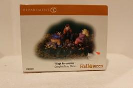 Dept 56 Halloween Village - Campfire Scary Stories - 2008 - #53240 - Mint - $17.95