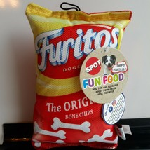 Furitos Chips 8 Inch Dog Toy. New - $14.85