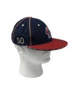 Los Angeles Angels Baseball MLB Hat Cap Flat Brim 6 Panel Size S/M - $18.99