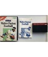 ☆ Walter Payton Football (Sega Master System 1989) COMPLETE in Case Game... - $14.95