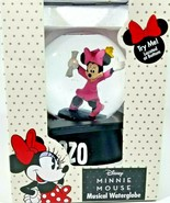 Disney 2020 Minnie Mouse in Cap and Gown Graduation Musical Water Globe - $20.79