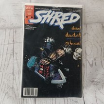 Shred #2 CFW 1989 Skateboard Magazine Comic Book Skate Skateboarding Skater - $8.59
