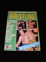 Popular Wrestling Magazine August 1976 Iron Sheik Mil Mascaras Haystacks... - $14.99