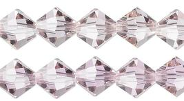 4pcs 8mm Swarovski Crystal Faceted Bicone Beads - You Choose The Color image 4