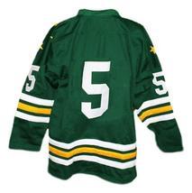 Custom Name # Greensboro Generals Retro Hockey Jersey 1960 New Green Any Size image 2