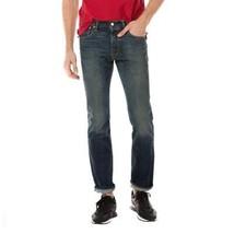 Levi's Strauss 501 Men's Cotton Original Fit Button Fly Selvedge Jeans 501-2402