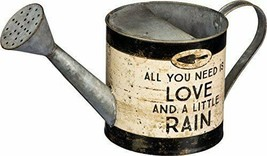 PBK All You Need is Love and a Little Rain Tin Gardening Watering Can - $34.65