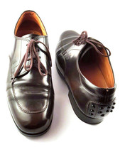 TOD's Brown Leather Oxford Lace Up Shoes, Women's Shoe Size UK 3.5, EU 36.5 - $145.05