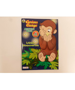 PBS Kids Curious George Coloring Book Story  Ages 3+ Activity Book By Be... - $2.95