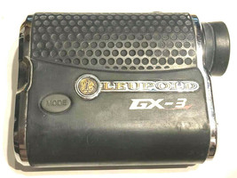 LEUPOLD GX-3 RANGEFINDER POWERS ON DISPLAY HARDLY VISIBLE NO DISTANCE ME... - $89.09