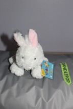 "Webkinz Lil' Rabbit HSO78 With  Sealed Code 8"" - $9.89"