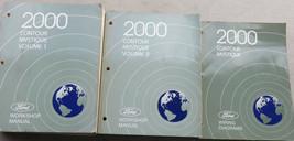 2000  Ford Contour / Mystique Shop Service Repair Manual Set W Wiring OE... - $10.87