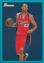 Marcus Camby 48 Bowman 09-10 #34 Blue Border Los Angeles Clippers - $0.50