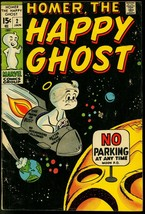 HOMER THE HAPPY GHOST #3 1970 MARVEL DAN DECARLO ART G- - $18.62