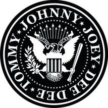 Ramones composite laminated circular wall plaque 25cm punk Sex Pistols D... - $32.00