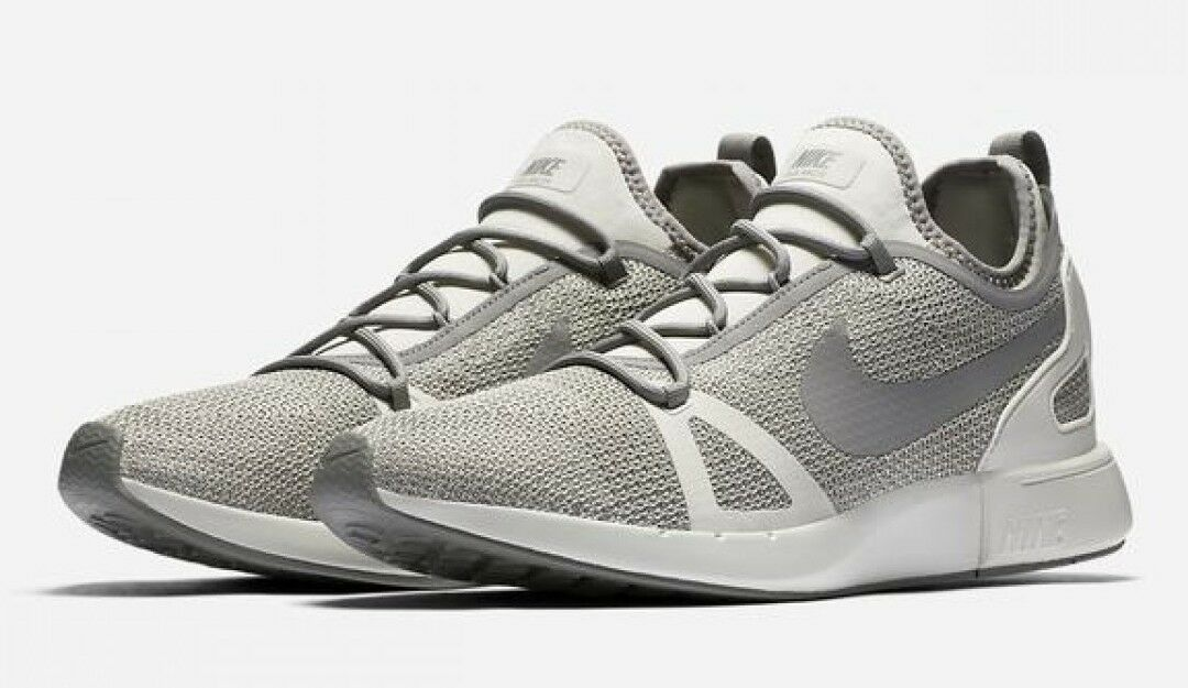 Nike Duel Racer Men's Shoe Lifestyle Sneakers 918228-004, Pale Grey/Dust/Bone 14