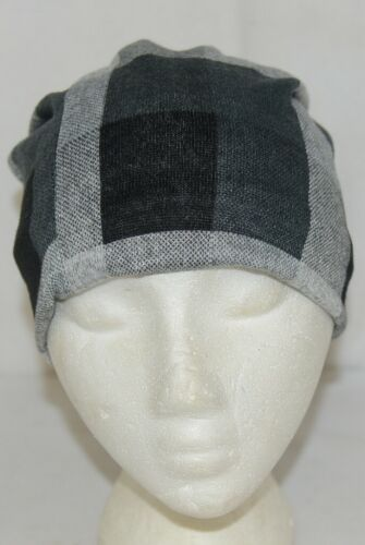 Howards Arianna Collection Buffalo Plaid Convertible Hat Adult Grays