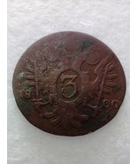Österreich 3 kreuzer 1800 Austria coin C - €4,42 EUR