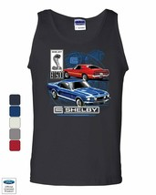 Ford Mustang Shelby GT500 Tank Top American Classic Shelby Cobra Sleeveless - $10.64+