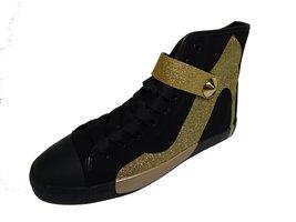 Be&d Maison Dumain Mary Jane Social Wear Womens Sneaker, Black Canvas wi... - $49.49
