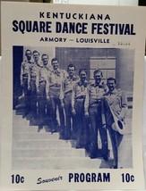 PEE WEE KING - SQUARE DANCE FEST / ORIGINAL 1946 SOUVENIR PROGRAM - VG C... - $19.99