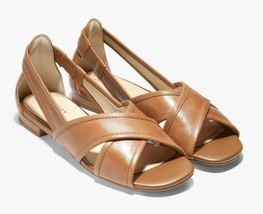 Cole Haan Modern Classics Lewis Sandal - Pecan Leather, Size 5.5 M [W21853] - $99.99