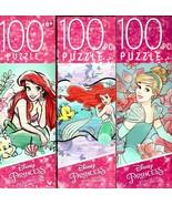 Disney Princess -  100 Pieces Jigsaw Puzzle v3 (Set of 3) - $20.78