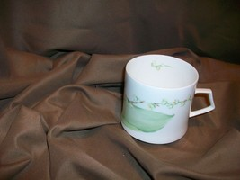 MIKASA NATURE'S GARDEN LILY OF THE VALLEY TEACUP MAY BIRTHDAY NARUMI JAPAN - $12.86