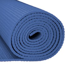 Home Exercise Mat, 3mm Compact Blue Pilates Non-slip Yoga Mat Gym - $27.99