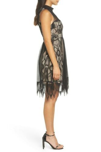 NWT Foxiedox Gloria Fit & Flare Dress  SPECIAL OCCASION  $168  BLACK  Size 2 image 3