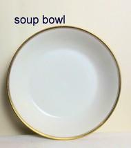 Vintage Long Champs Limoges France T & V Set of 2 Soup Bowls 7.5 Inches - $28.00