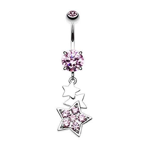Primary image for Star Dazzle WildKlass Belly Button Ring