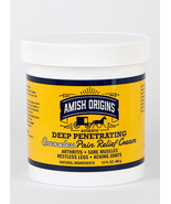 Amish Origins Deep Penetrating Greaseless Pain Relief Ointment Restless ... - $44.05