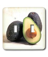 3dRose lsp_4229_2 Avocado Double Toggle Switch - $17.27