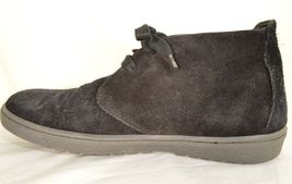 Vince shoes boots hi top US 8 EU 41 black suede leather upper leather lining image 10
