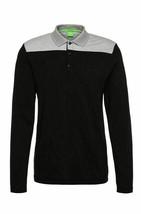 Hugo Boss Men's Premium Stretch Cotton Slim Fit Long Sleeve Polo Shirt 50326327 image 2