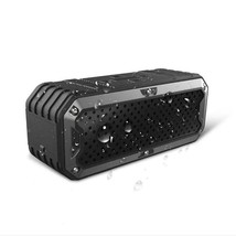 New Rugged Outdoor Water-Resistant Bluetooth Speaker Subwoofer Power Bank - $71.99