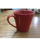 Starbucks 2014 Holiday Christmas Red Coffee Mug 18 Oz. NWOT New Mint - $16.14