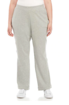 Kim Rogers 1X  Comfort Fit Soft Cotton Jersey Knit  Pull On Casual Pants... - $13.09