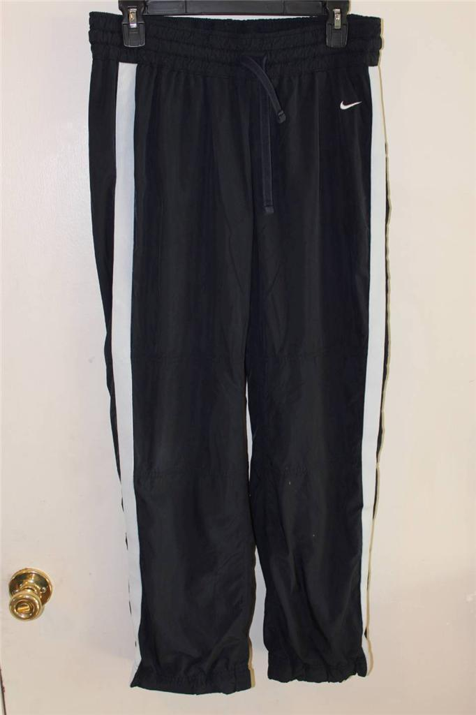 cheaper 43dae e0c1e A3306 Womens NIKE Athletic Dept. Navy Blue Warm Ups Track PANTS Medium