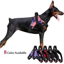 Medium Large Dog Harness Nylon Reflective Collar Vest Harnesses For Dogs... - $25.10