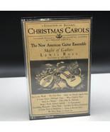 Christmas carols cassette vintage music media New American guitar ensemb... - $19.80