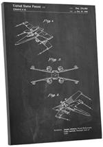 """Pingo World 1223PKISGTS """"Star Wars X-Wing"""" Gallery Wrapped Canvas Print, 20"""" x 3 - $54.40"""