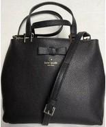 New Kate Spade New York Gwyn Pershing Street Leather Satchel Black - $134.15