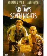 Six Days Seven Nights (1998) DVD 6 Days 7 Nights *REGION 2 PLEASE READ LISTING* - $13.95
