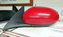 2002-2008 Jaguar X-TYPE Left Driver Side Power Side Door Mirror(Red) - $94.05