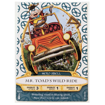 Sorcerers of the Magic Kingdom Card: Mr. Toad's Wild Ride 50/70 - $2.90