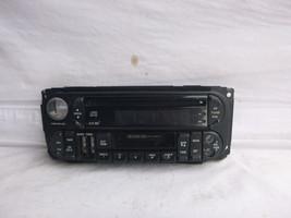 98-01 Dodge Chrysler Jeep Radio CD Cassette Face Plate P56038623AF 61567 - $12.13