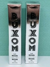 Lot of 2 BUXOM Lash Volumizing Mascara BLACKEST BLACK -Travel Size (0.2 ... - $12.99